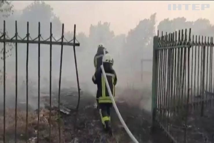 Масштабна пожежа: на Харківщині оголосили надзвичайну ситуацію регіонального рівня