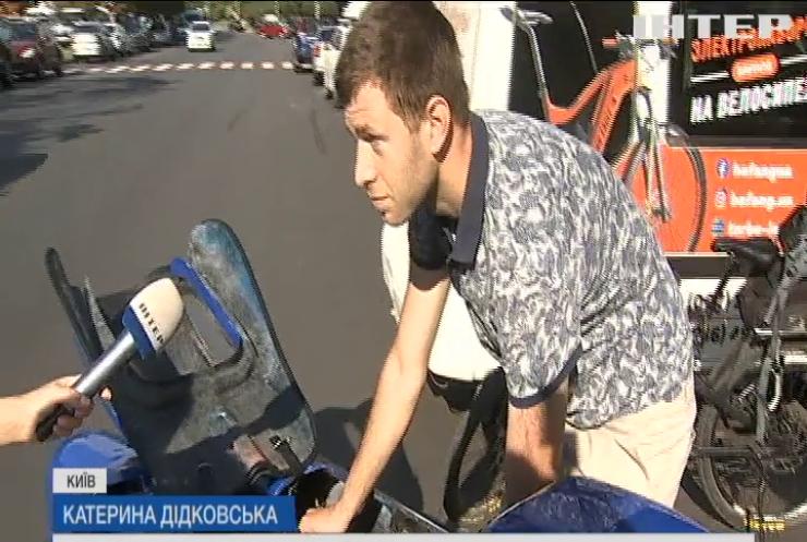 """""""Київська Сотка"""": у столиці пройшов веломарафон в умовах карантину"""