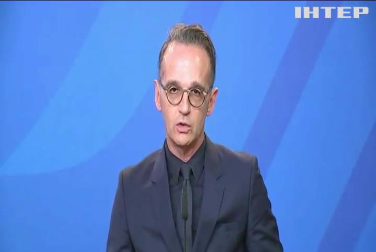 Глава МЗС Німеччини закликав припинити у Білорусі репресії