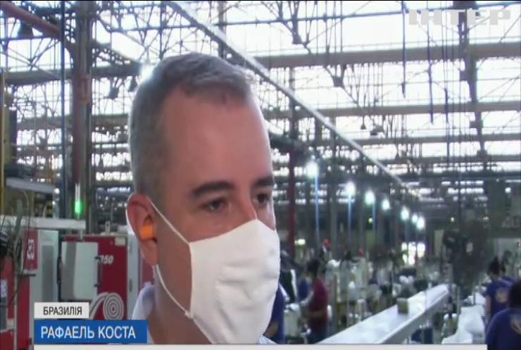 У Бразилії розробили пакети проти коронавірусу