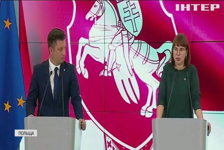 У Білорусі намагаються видворити опозиціонерів за кордон