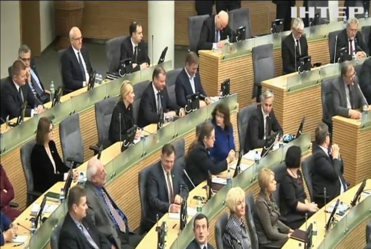Литовський парламент визнав Тихановську президентом Білорусі
