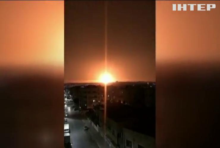 У Йорданії вибухнув військовий склад (відео)