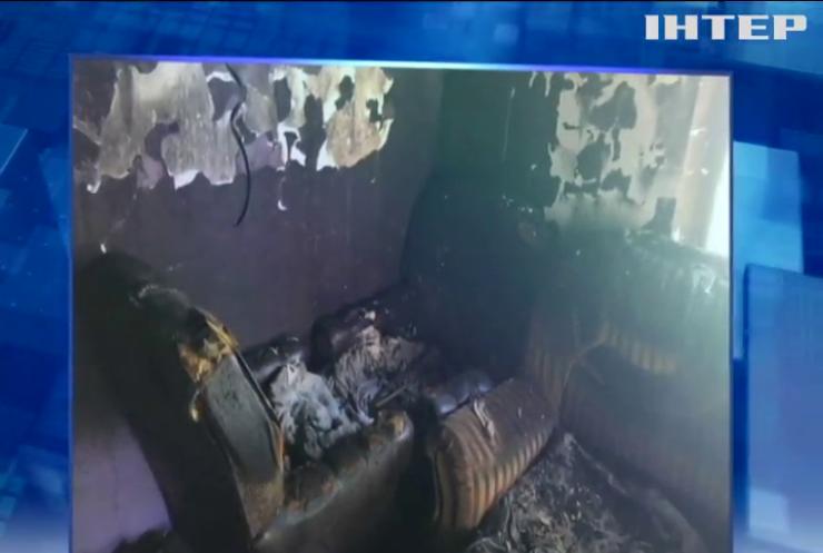 На Львівщині у пожежі згоріло немовля