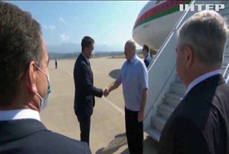 У Сочі зустрілися Лукашенко і Путін