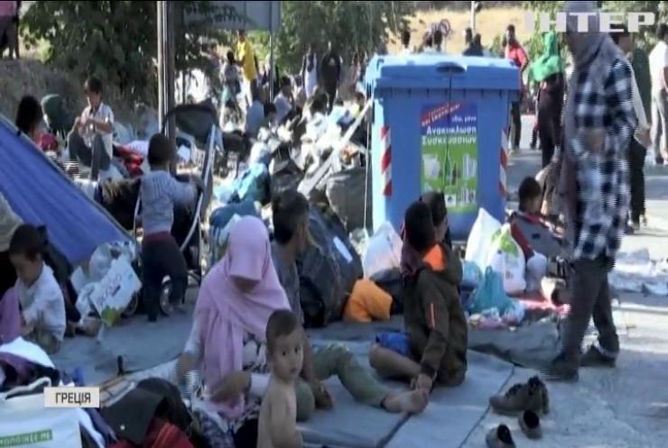 Німеччина погодилася прийняти біженців з грецьких островів
