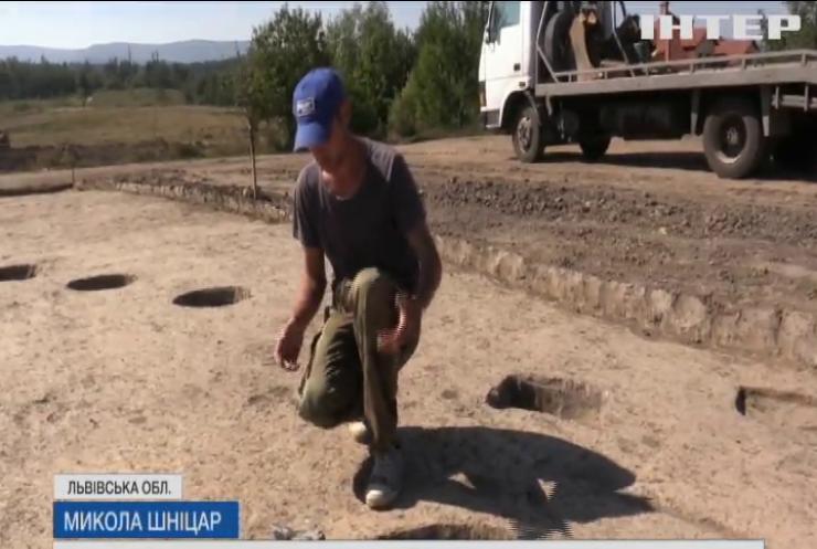Поблизу Трускавця відкопали стародавнє поселення