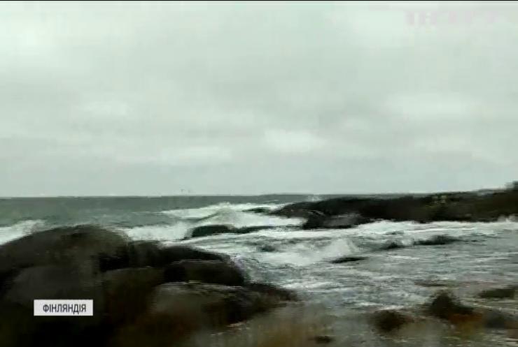 Фінляндію накрило потужним штормом