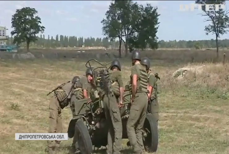 Зенітники Нацгвардії змагаються на всеукраїнському конкурсі