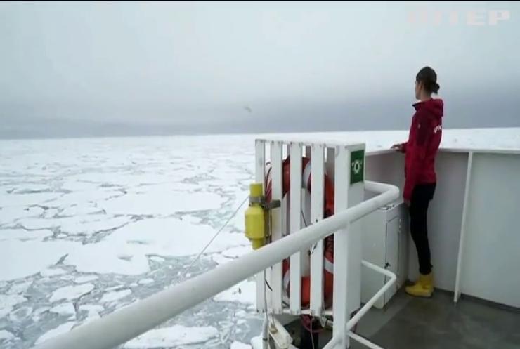 В Арктиці швидкість танення криги сягнула абсолютного рекорду