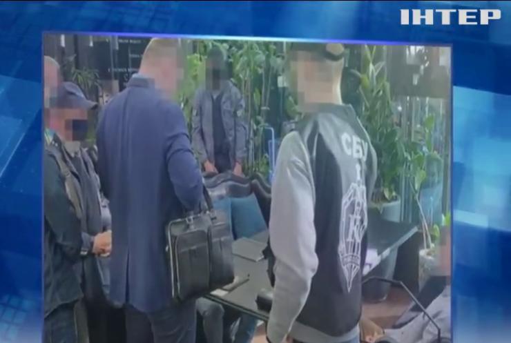 У НАН Україні спіймали хабарника