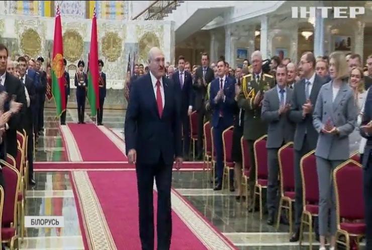 Олександр Лукашенко провів таємну інавгурацію