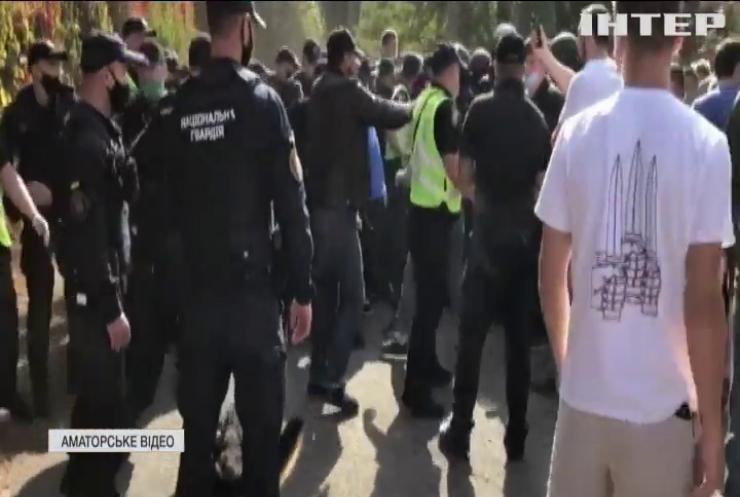 Право сили: у Києві поліція побилася зі студентами та викладачами Олімпійського коледжу