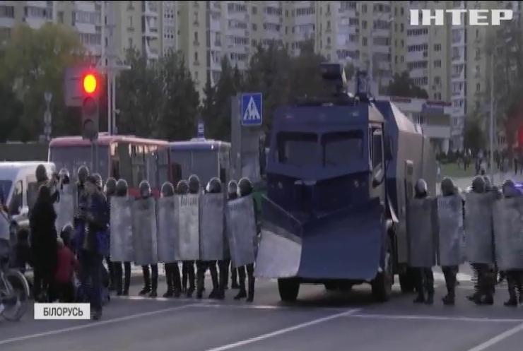 МВС Білорусі опублікувало заклик застосовувати зброю до протестувальників