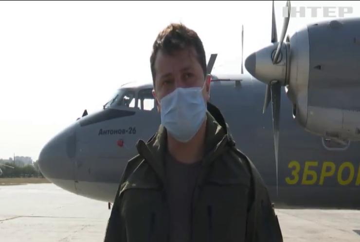 Володимир Зеленський доручив призупинити польоти всіх літаків АН-26