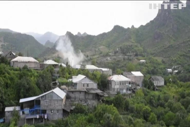 Війська Азербайджана захопили частину території Нагорного-Карабаха