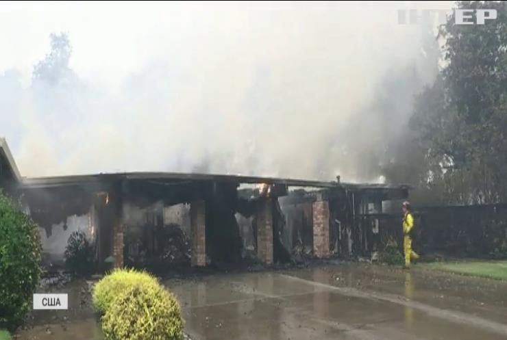 Пожежі у Каліфорнії знищують виноградники у долині Напа