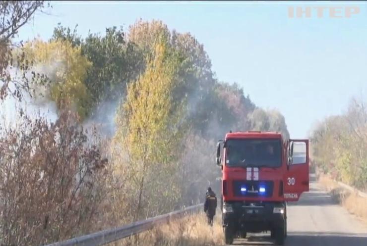 На Луганщині на вибуховому пристрої підірвалась пожежна машина