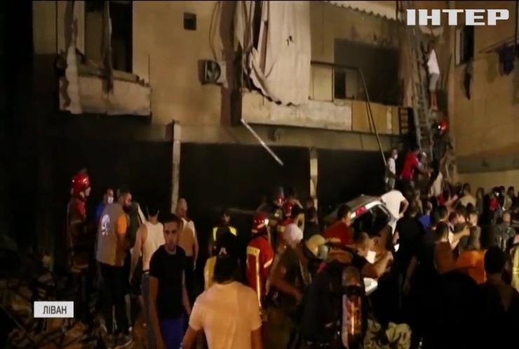 Вибух пального спричинив масштабну пожежу у житловому кварталі Бейрута