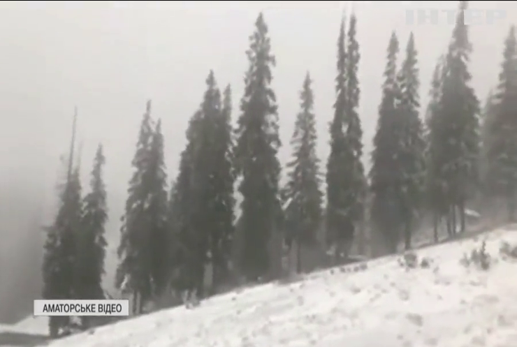 Погода на Покрову прогнозує зиму: у Карпатах випав перший сніг