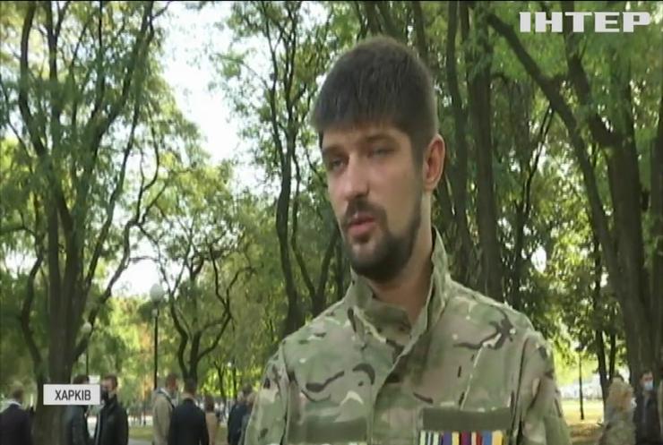 Герої не вмирають: у Харкові хвилиною мовчання вшанували загиблих захисників України