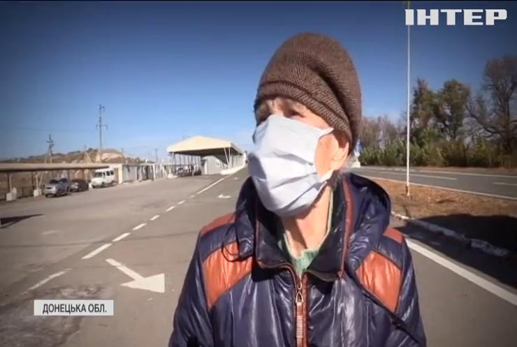 На Донбасі сотні людей тижнями не можуть перейти через контрольно-пропускні пункти