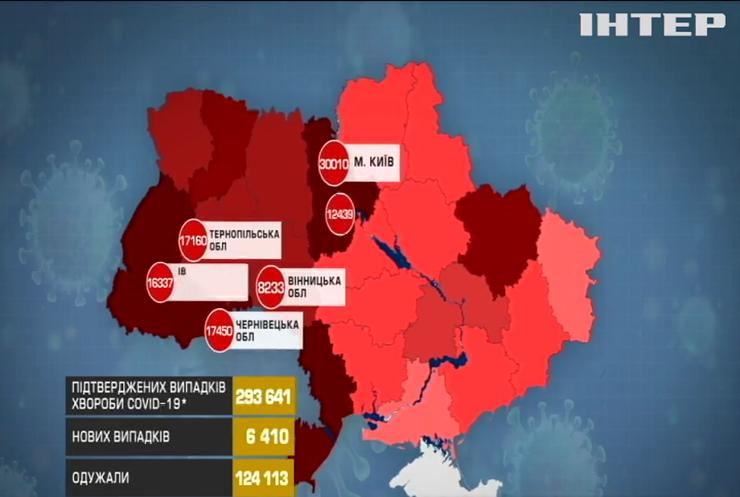 В Україні зафіксували рекордну кількість заражень коронавірусом
