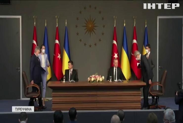 Володимир Зеленський та Раджеп Ердоган обговорили співпрацю України і Туреччини