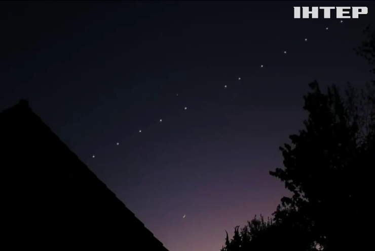Space X запустила партію інтернет-супутників Starlink
