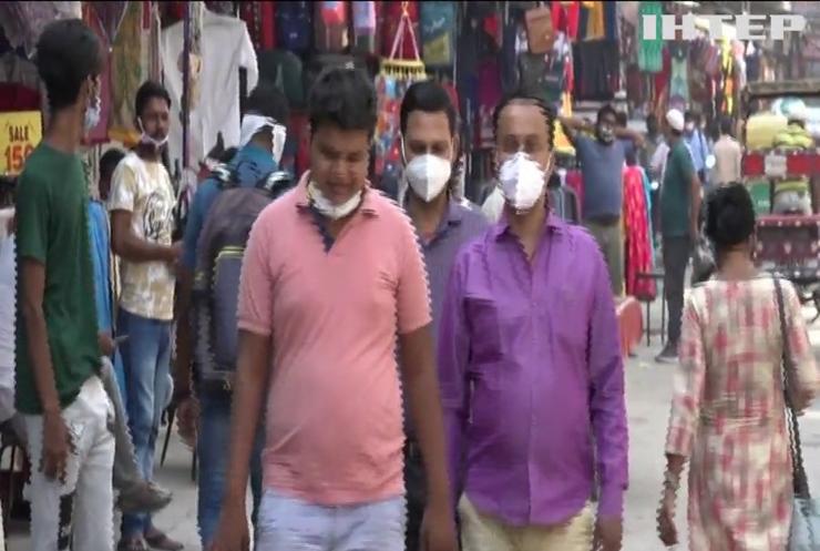 Індія стала лідером із захворюваності на COVID-19