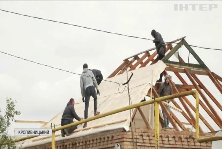 У Кропивницькому рахують збитки від руйнівного торнадо
