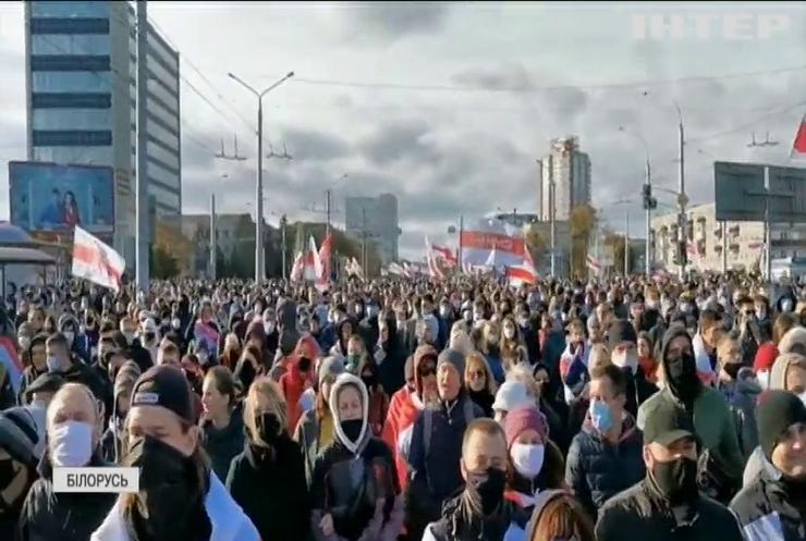 Світлана Тихановська закликала жителів Білорусі до загальнодержавного страйку