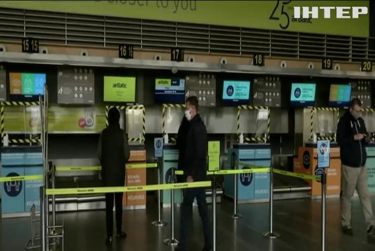 """Коронавірус """"закриває"""" двісті аеропортів Європи"""