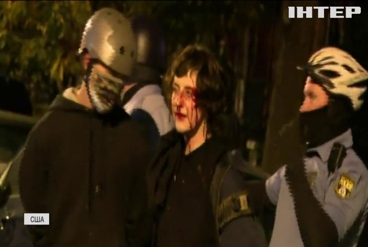 У Філадельфії протест проти поліції переріс у сутичку з копами