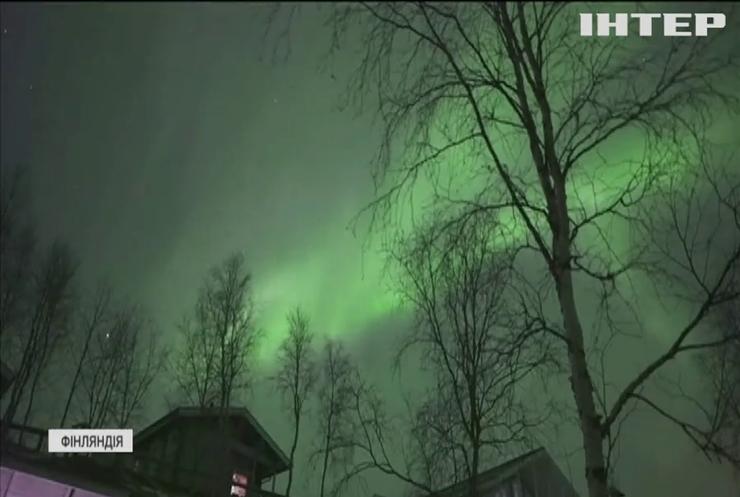 У Фінляндії побачили Північне сяйво