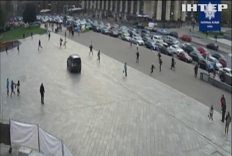 Винуватця ДТП на Майдані відправили під домашній арешт