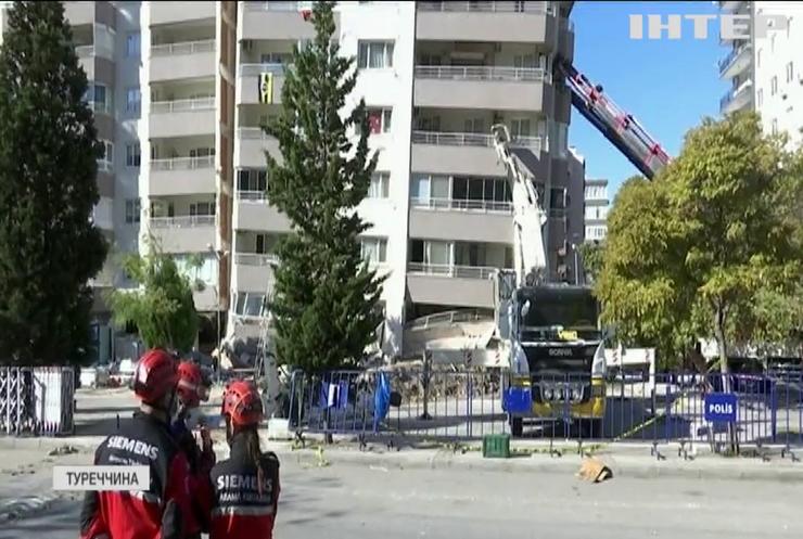 У Туреччині борються з наслідкам потужного землетрусу