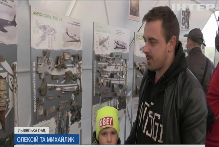 На Львівщині відкрили для відвідувачів музей розбитих літаків
