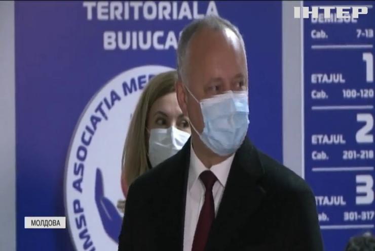 У Молдові Додон викликав Санду на дебати