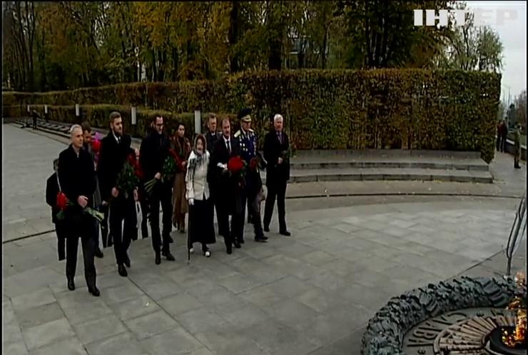 У Києві вшанували пам'ять полеглих визволителів столиці України