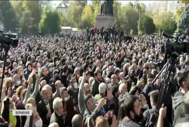 Вірменська опозиція вимагає відставки прем'єр-міністра Нікола Пашиняна