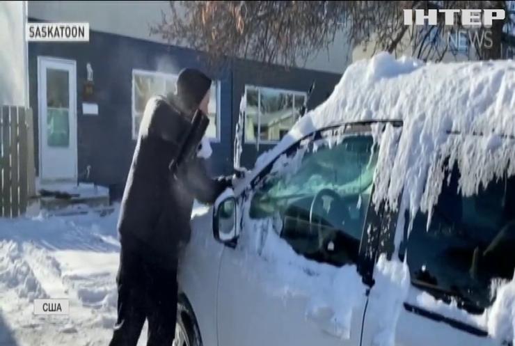 Сніг та шторм: Америку діймає негода