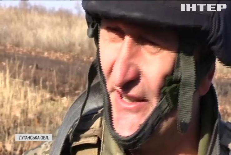 Бойовики обстріляли позиції українських військових біля Мар'їнки