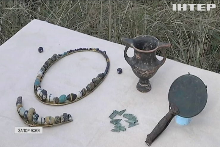 На Хортиці знайшли поховання скіфського богатиря