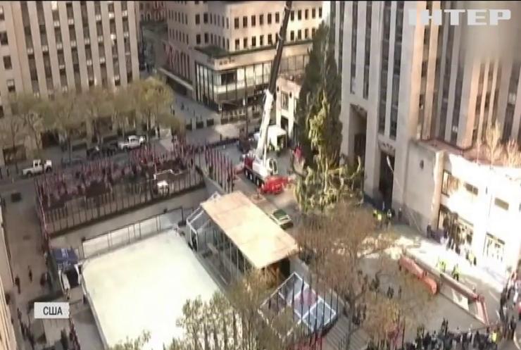 Головна ялинка Нью-Йорка влаштувала американцям різдвяний сюрприз