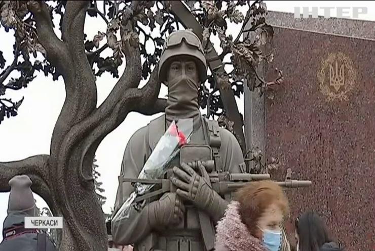У Черкасах відкрили унікальний меморіал полеглим воїнам АТО