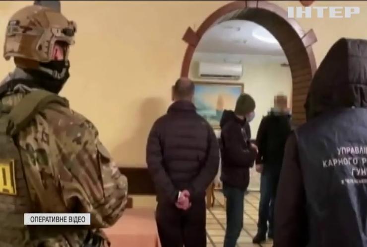 """Поліція накрила вечірку """"смотрящих"""" у Городищі"""