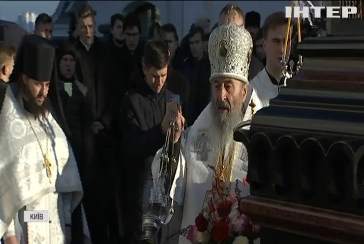 У Києво-Печерській Лаврі вшанували пам'ять Предстоятеля УПЦ Митрополита Володимира