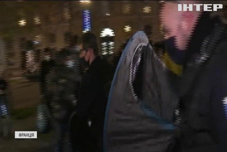 У центрі Парижа демонтували нелегальний табір мігрантів