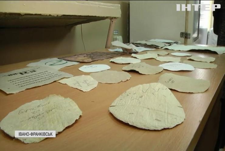 На Прикарпатті студент розробив технологію виготовлення паперу з отруйного бур'яну